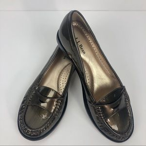 L.L. Bean Signature Handsewn Leather Loafer Size 7